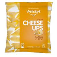 WELLABY'S CHEESE UPS GOUDA SNA