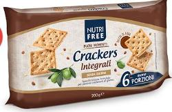 NUTRIFREE CRACKERS INTEGR 6PZ